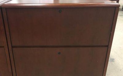 NATIONAL ARROWOOD 2 DRAWER FILE