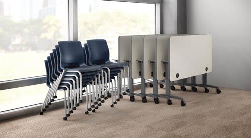 Hon Flip Top Huddle Tables Office Liquidators