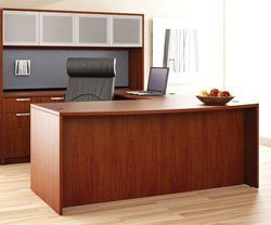 Friant Bow Front U-Shape Desk